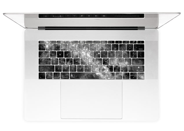 Silverdust MacBook Pro 15 keyboard stickers