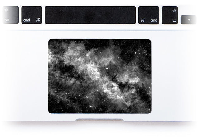 Silverdust MacBook Trackpad Sticker alternate