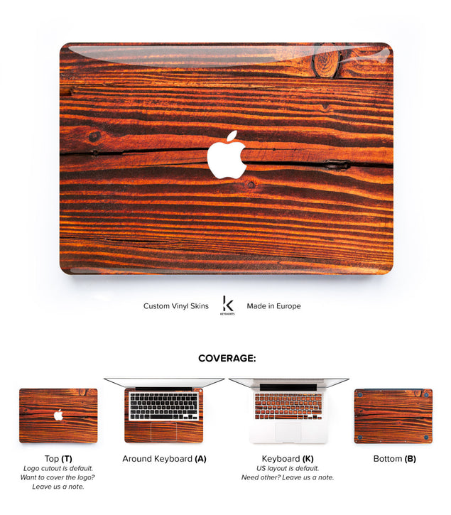 Redwood MacBook Skin at Keyshorts.com