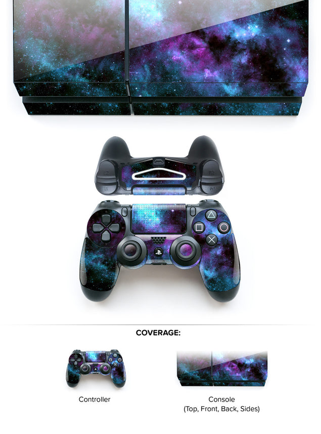 Sleepy Galaxy PS4 Skin at Keyshorts.com