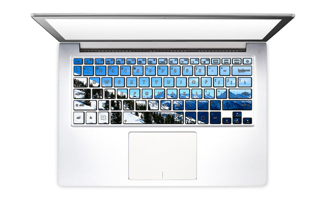 Snowboard Soul Laptop Keyboard Stickers
