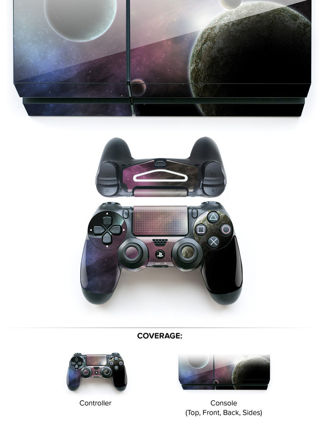 Space Odyssey PS4 Skin at Keyshorts.com