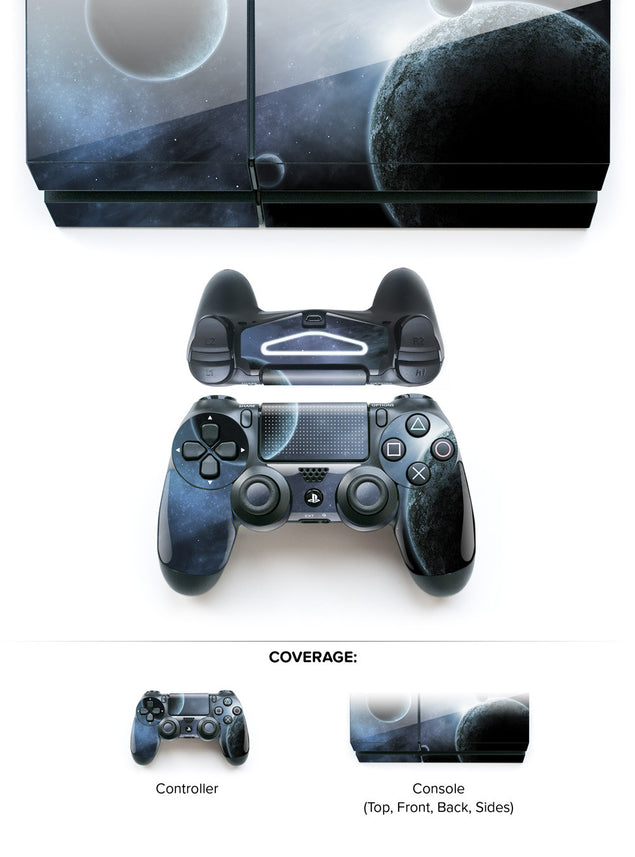 Space Odyssey in Blue PS4 Skin at Keyshorts.com