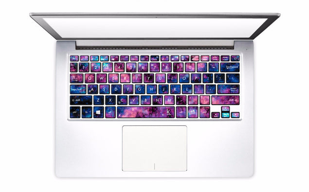 Stardust in Your Eyes Laptop Keyboard Decal