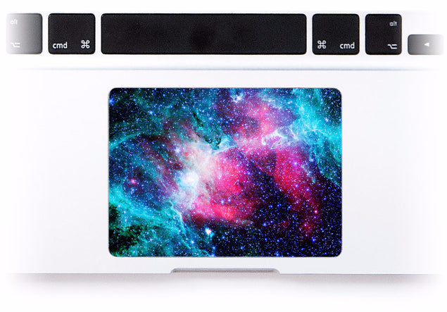Stellar MacBook Trackpad Sticker at Keyshorts.com - 1
