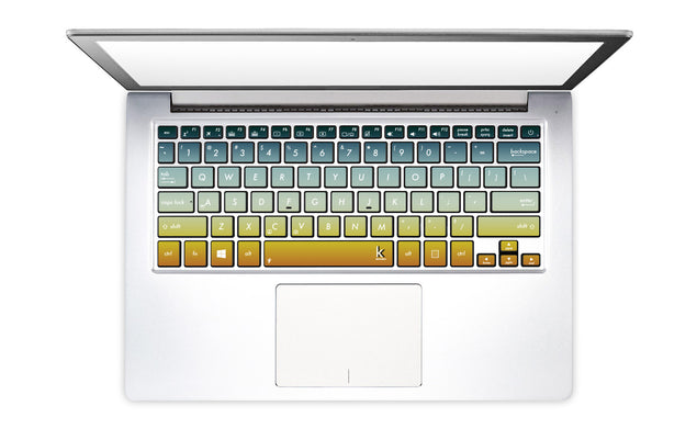 Summer Ombre Laptop Keyboard Decal