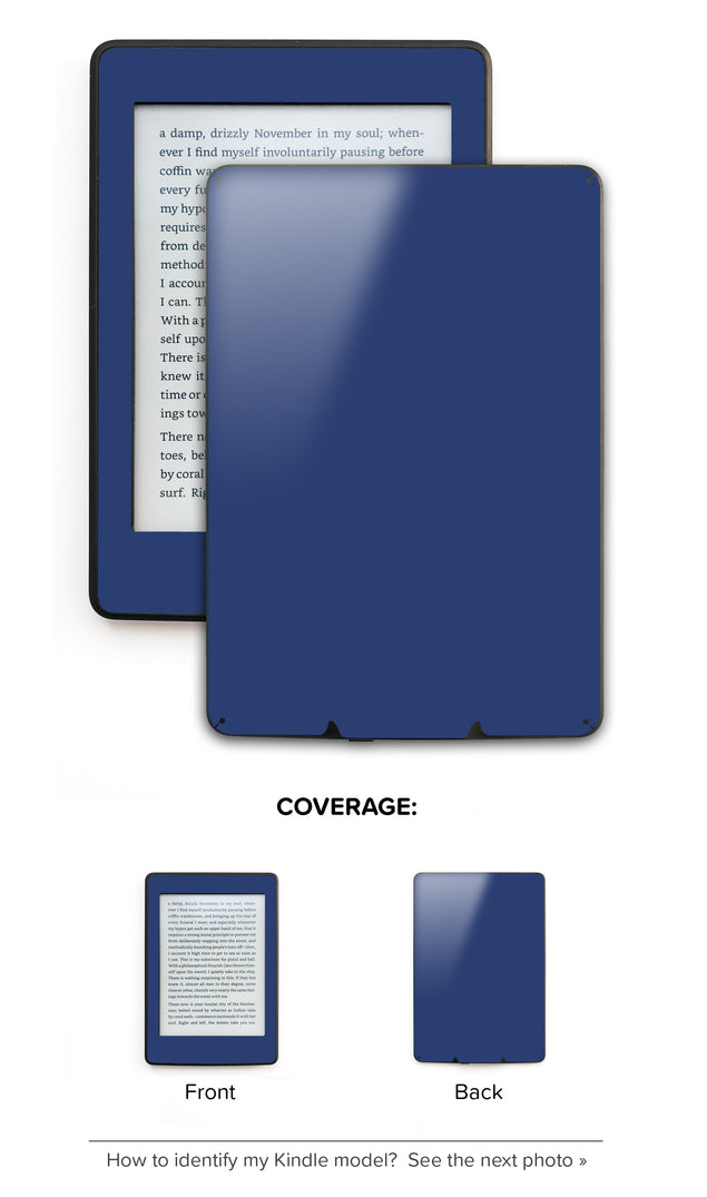 Sunrise Navy Kindle Skin