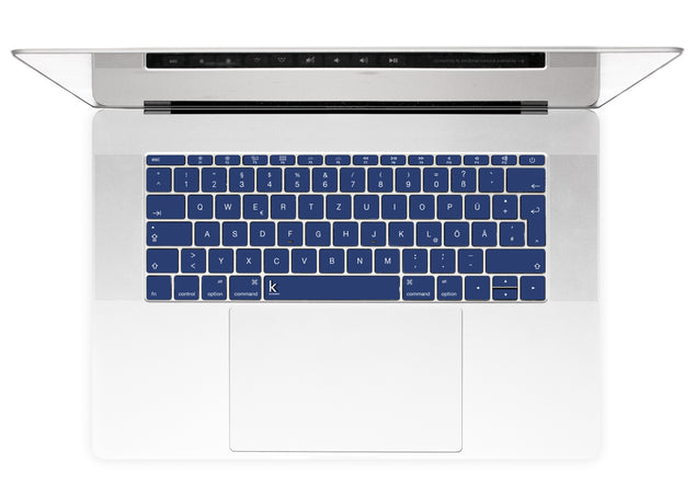 Sunrise Navy MacBook Keyboard Stickers alternate