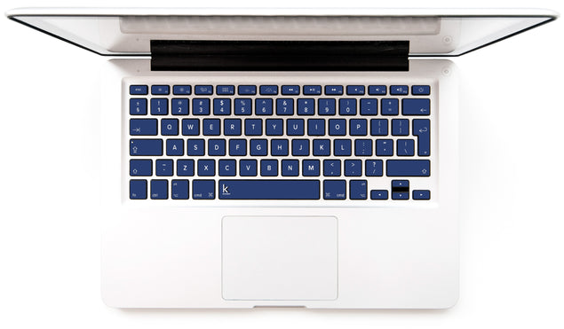 Sunrise Navy MacBook Keyboard Stickers