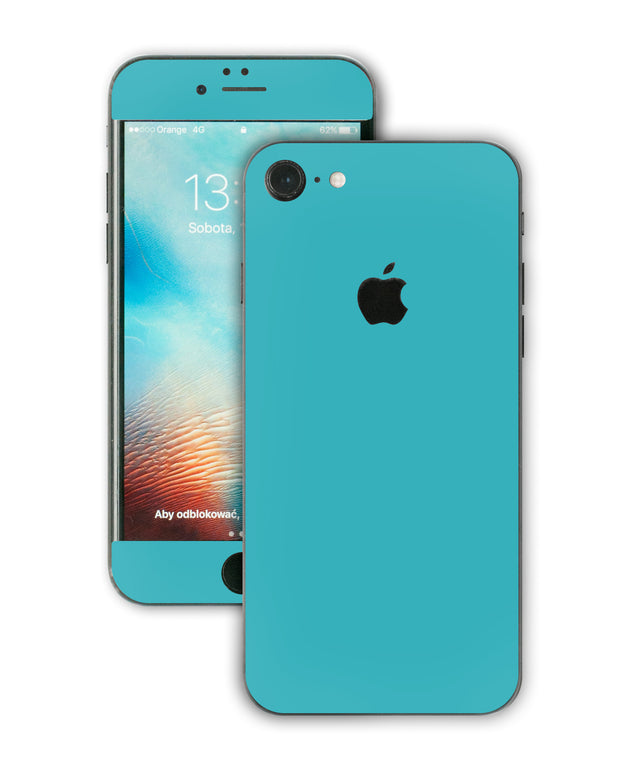 Teal Night iPhone Skin