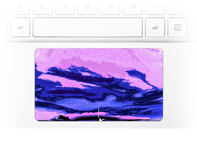 The tourist Laptop Trackpad Sticker