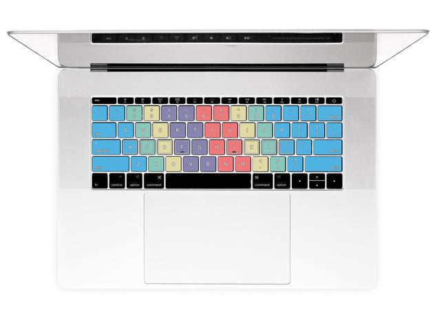 Touch Typing MacBook Keyboard Stickers