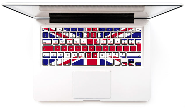 Union Jack MacBook Keyboard Decal at Keyshorts.com