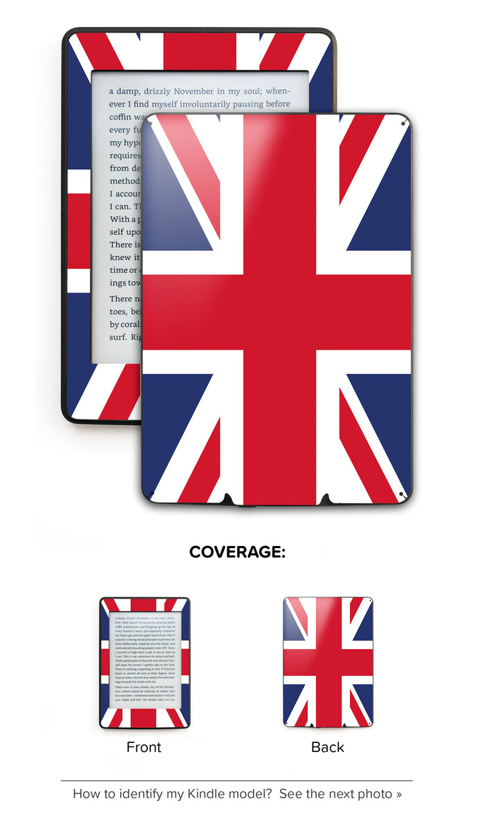 Kindle, Kindle Paperwhite and Kindle Fire Skins and Decals