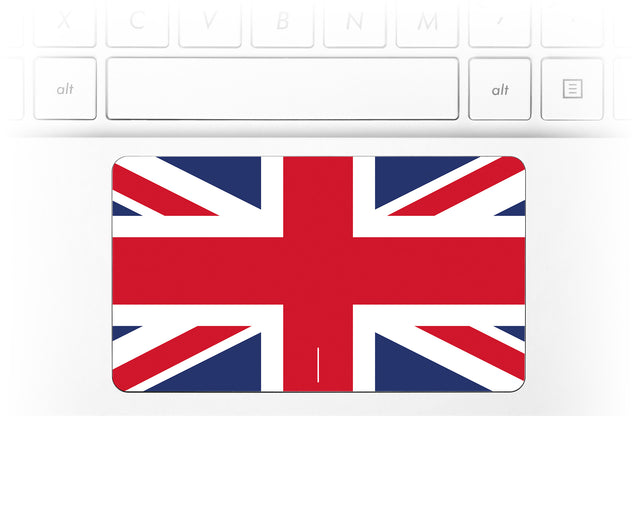 Union Jack Laptop Trackpad Sticker