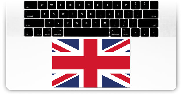 Union Jack MacBook Trackpad Sticker for MacBook Pro 15 with Touchbar