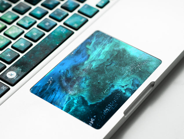 UnderSea MacBook Trackpad Sticker at Keyshorts.com - 2