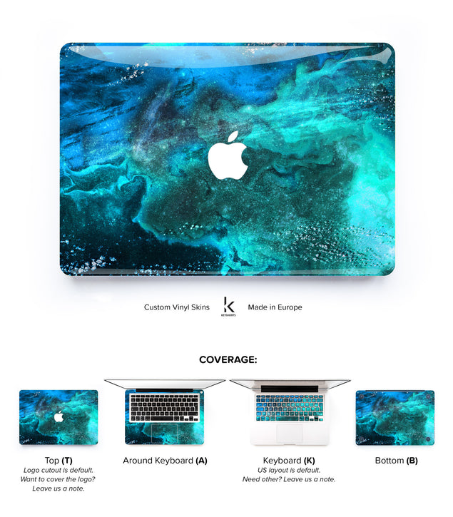 UnderSea MacBook Skin at Keyshorts.com