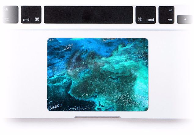 UnderSea MacBook Trackpad Sticker at Keyshorts.com - 1