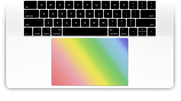 Unicorn Ombre MacBook Trackpad Sticker