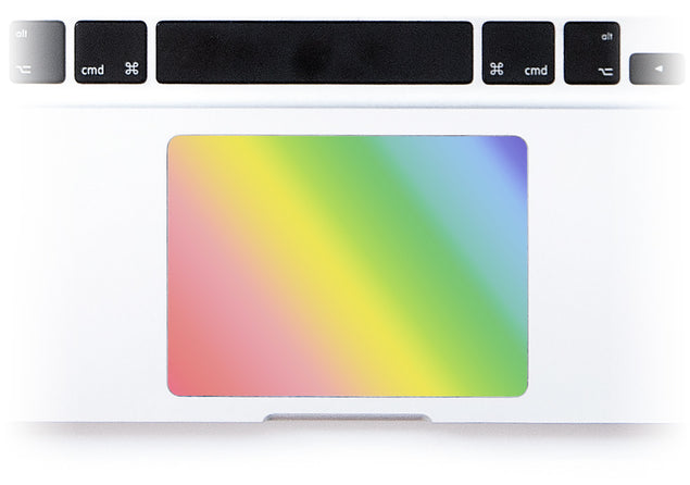 Unicorn Ombre MacBook Trackpad Sticker alternate