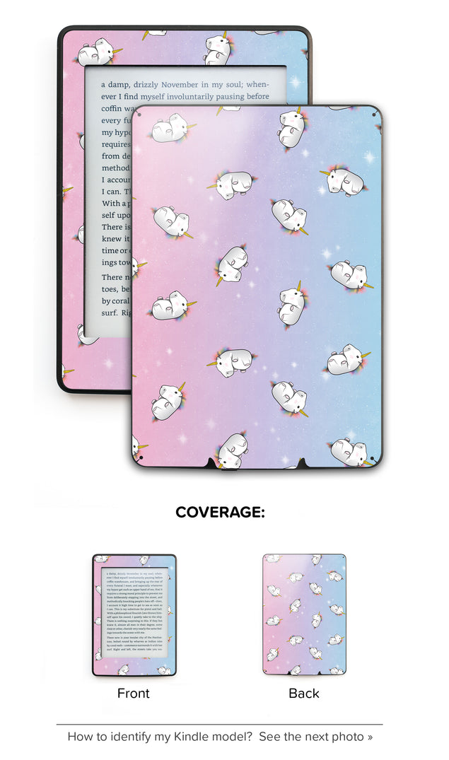 Unicorn Galaxy Kindle Skin