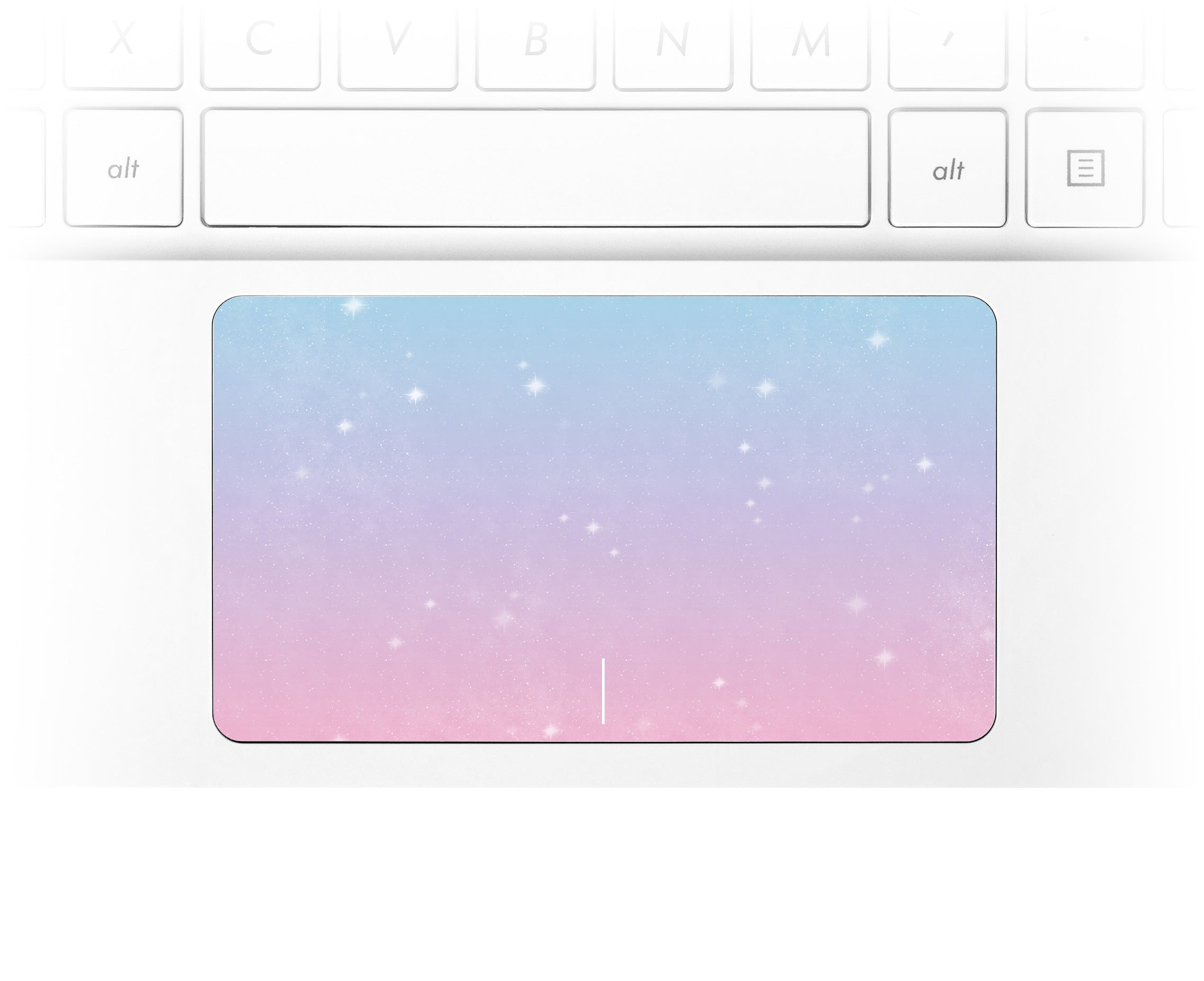 Unicorn Sky Laptop Trackpad Sticker