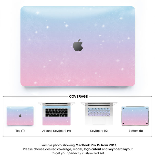Unicorn Sky MacBook Skin