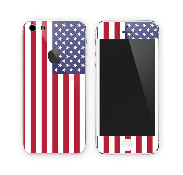 USA Flag iPhone Skin at Keyshorts.com