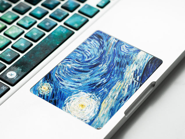 Van Gogh Dreams MacBook Trackpad Sticker at Keyshorts.com - 2