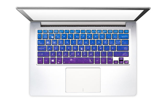 Vintage Galaxy Laptop Keyboard Stickers