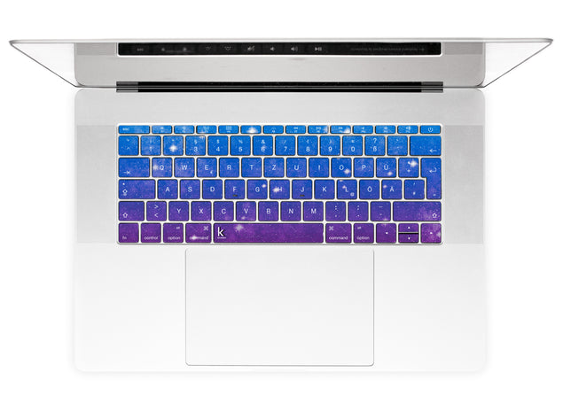 Vintage Galaxy MacBook Keyboard Stickers alternate