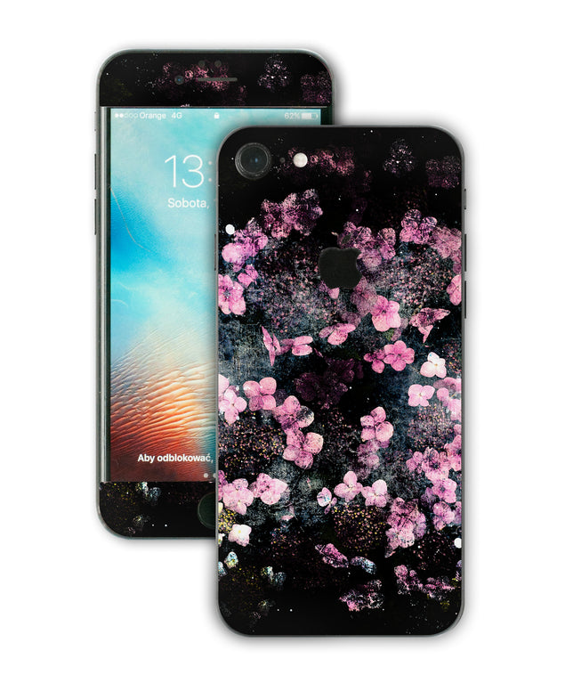 Wabi Sabi Flowers iPhone Skin