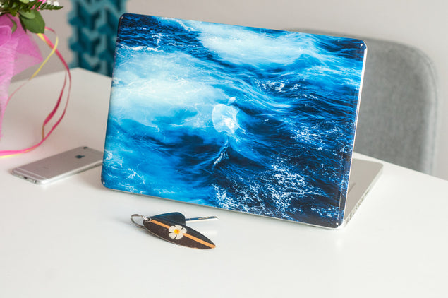 Big Blue MacBook Skin at Keyshorts.com - 2