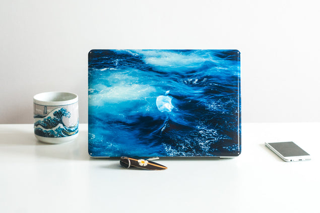 Big Blue MacBook Skin at Keyshorts.com - 3