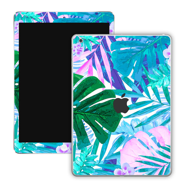 Watercolor Jungle iPad Skin