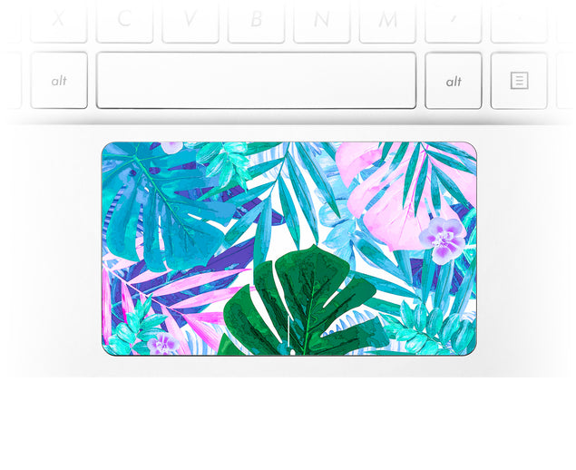 Watercolor Jungle Laptop Trackpad Sticker