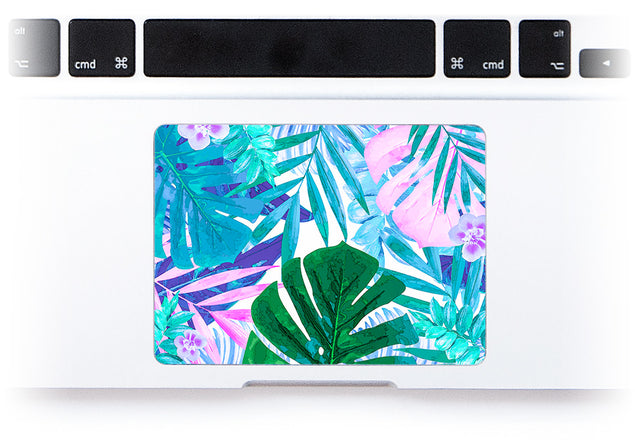 Watercolor Jungle MacBook Trackpad Sticker alternate