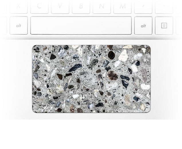Watercolor Terrazzo  Laptop Trackpad Sticker