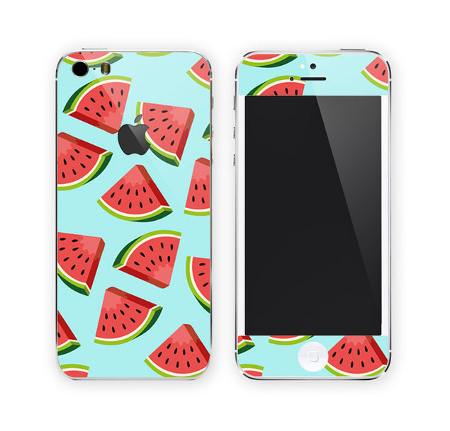 Cartoon Watermelons iPhone Skin at Keyshorts.com