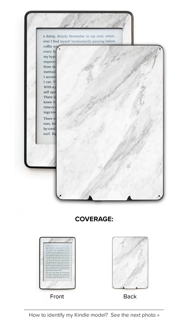 Welcoming Marble Kindle Skin