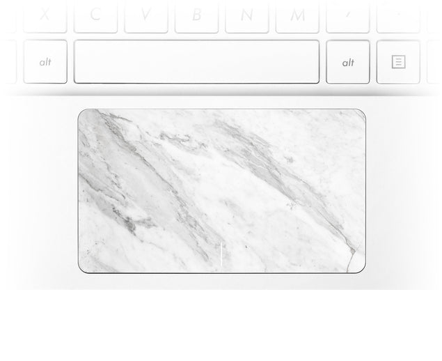Welcoming Marble Laptop Trackpad Sticker