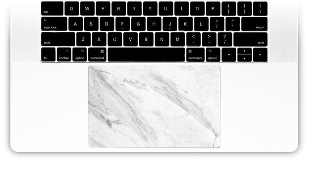 Welcoming Marble MacBook Trackpad Sticker
