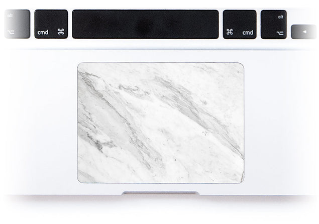 Welcoming Marble MacBook Trackpad Sticker alternate