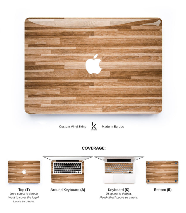 Woody MacBook Skin at Keyshorts.com - 1