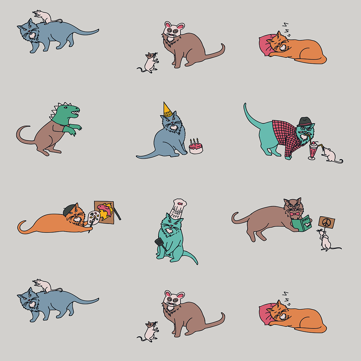 The 9 Lives of Jeffrey Cat