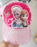 Kids Frozen Inspired Hat with Shield - SHIPS SAME DAY!