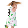 Dinosaur Dress Side View