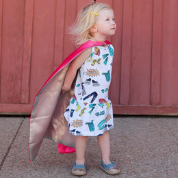 Gender-Neutral Superheroes Comic Book Dress