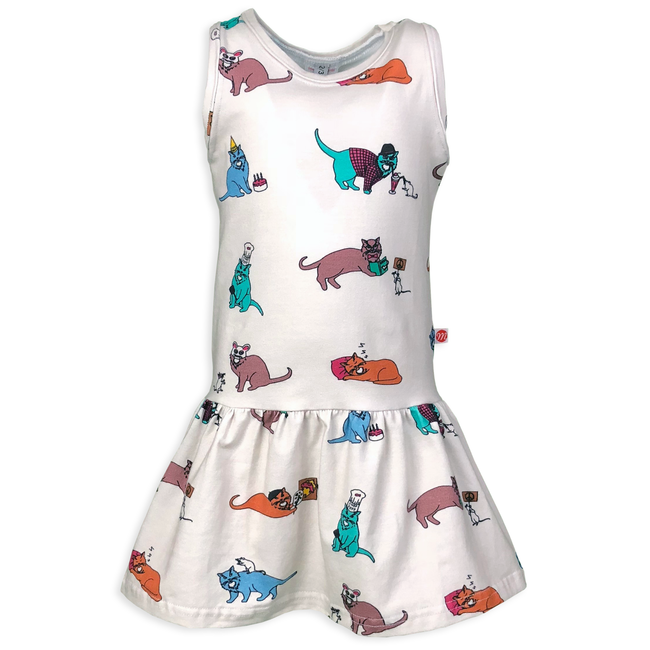 The 9 Lives of Jeffrey Cat Dress